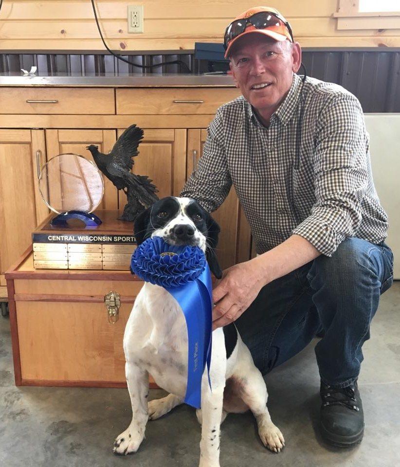 Zeus wins Wisconsin Field Trial